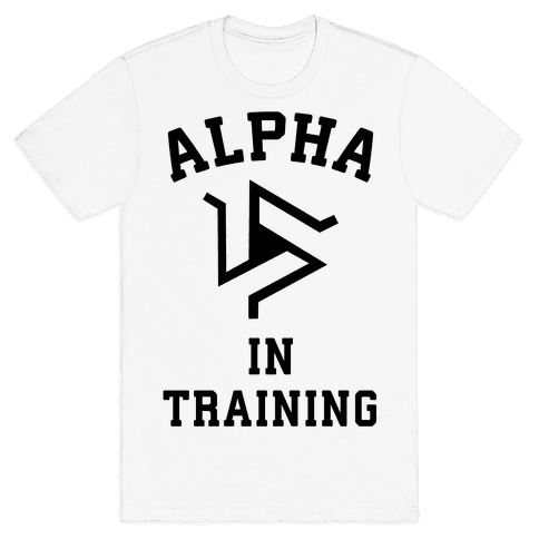 Alpha In Training Mens T-Shirt