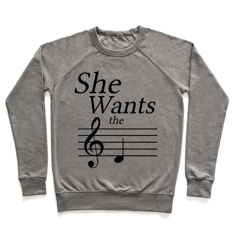 She Wants the D Pullover