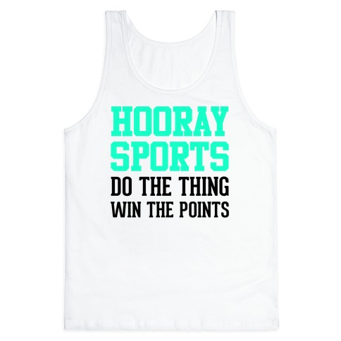 Hooray Sports (Teal) Tank Top
