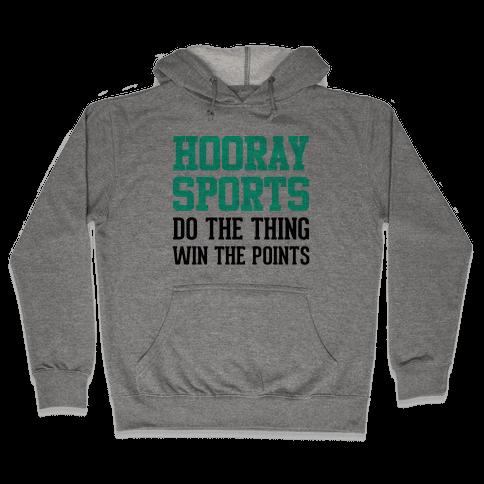 Hooray Sports (Teal) Hooded Sweatshirt