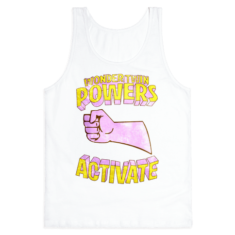 Wonder Twin Powers Activate 2 Tank Top