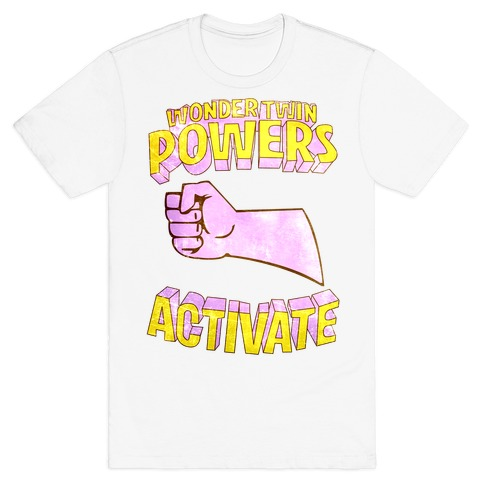 Wonder Twin Powers Activate 2 T-Shirt