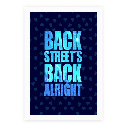 Backstreet's Back Alright! Poster