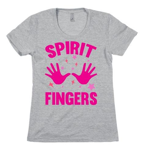 Spirit Fingers Womens T-Shirt