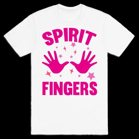 Spirit Fingers Mens T-Shirt