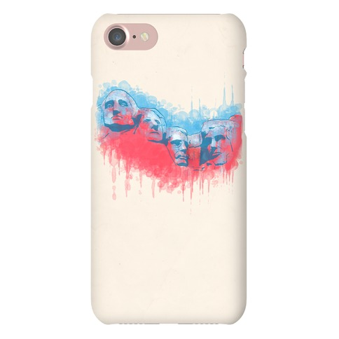 Watercolor Rushmore Phone Case