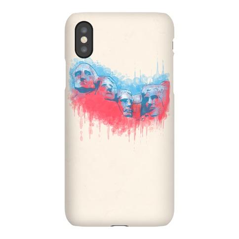 Watercolor Rushmore Phone Case