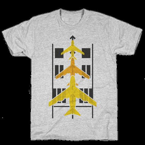 Takeoffs and Landings Mens T-Shirt