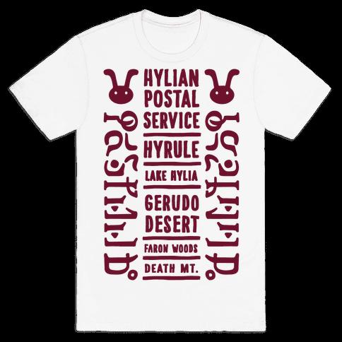Hyrule Postal Service Mens T-Shirt