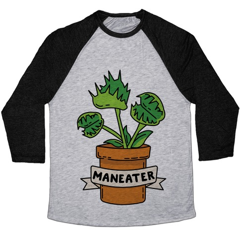 Maneater (Venus Fly Trap) Baseball Tee