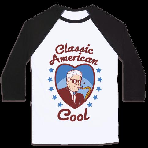 Classic American Cool Baseball Tee