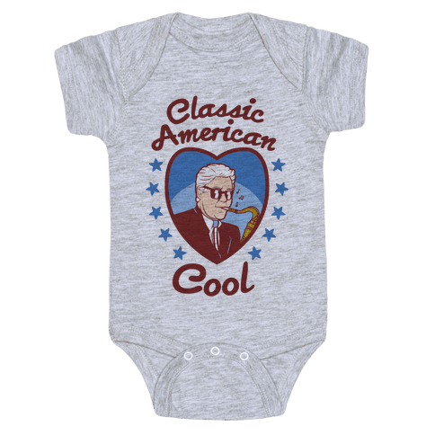 Classic American Cool Baby Onesy