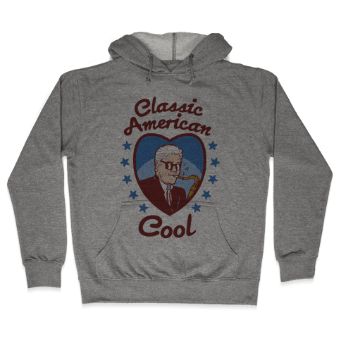 Classic American Cool Hooded Sweatshirt
