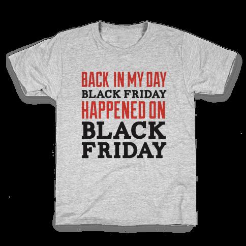 Black friday was Black friday (dark) Kids T-Shirt