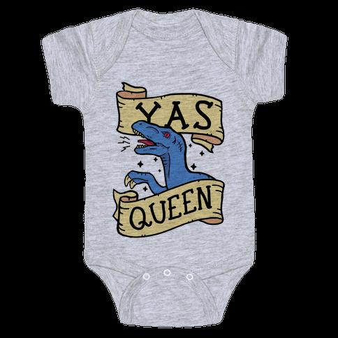 Yas Queen Raptor Baby Onesy