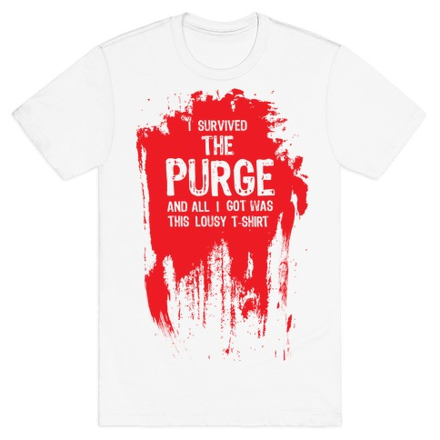 I Survived The Purge Mens T-Shirt