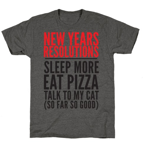New Year Resolutions T-Shirt