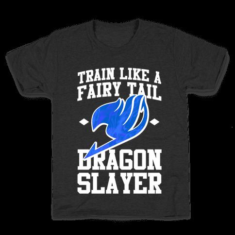 Train Like a Fairy Tail Dragon Slayer (Wendy) Kids T-Shirt
