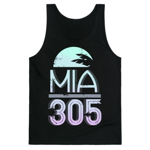 MIA 305 (color) Tank Top