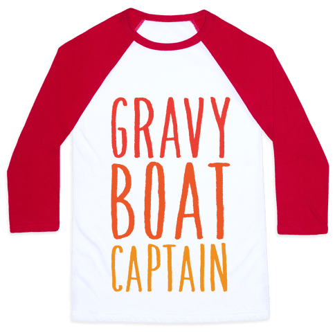 Gravy Boat Captain Baseball Tee