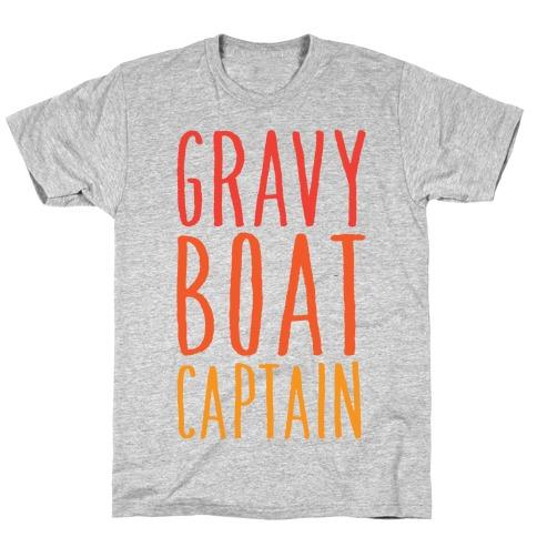 Gravy Boat Captain Mens/Unisex T-Shirt