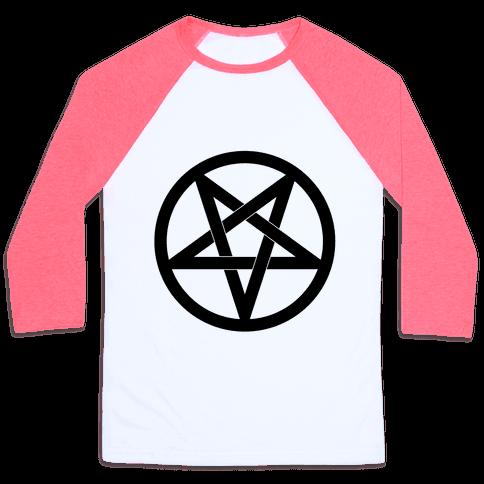 Pentagram Baseball Tee