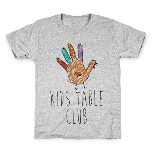 Kids Table Club Kids T-Shirt