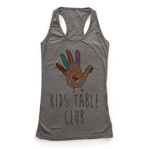 Kids Table Club Racerback Tank Top