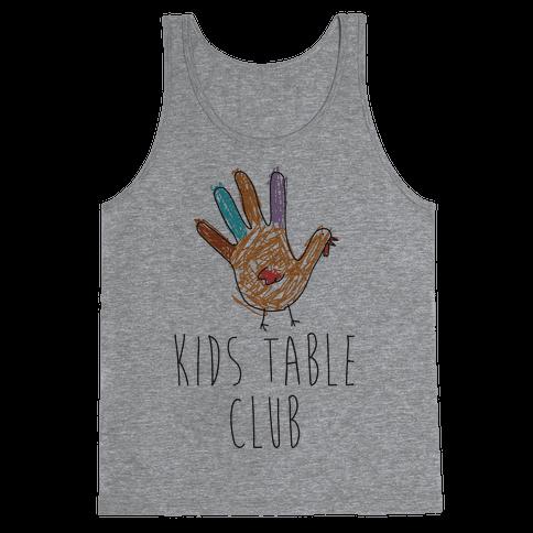 Kids Table Club Tank Top