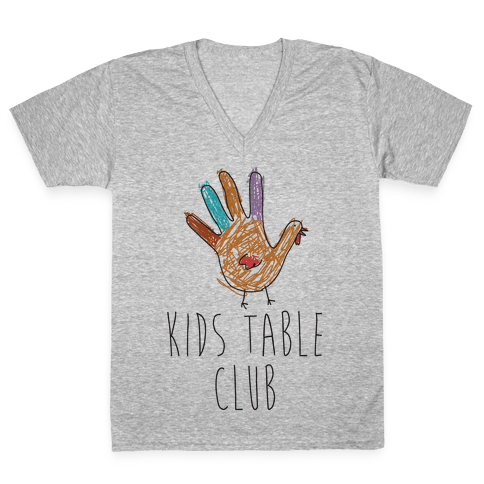 Kids Table Club V-Neck Tee Shirt