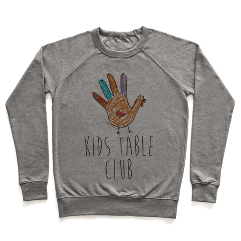 Kids Table Club Pullover