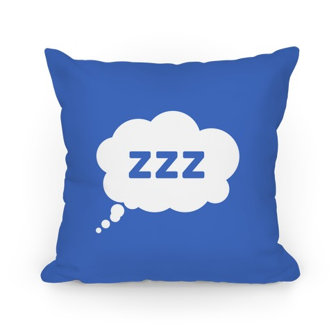 ZZZ Nap Pillow Pillow