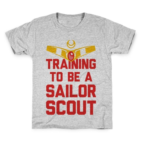Training To Be A Sailor Scout Kids T-Shirt