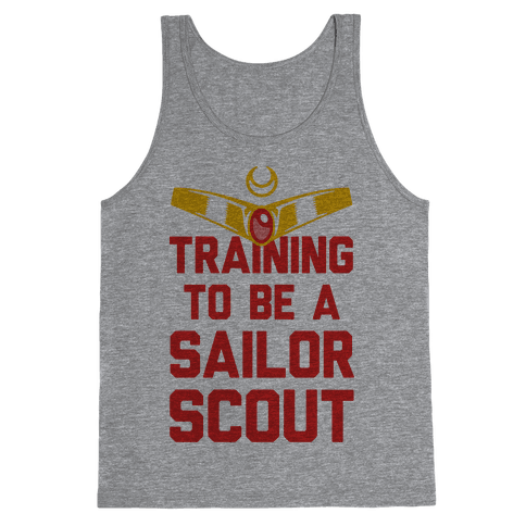 Training To Be A Sailor Scout Tank Top