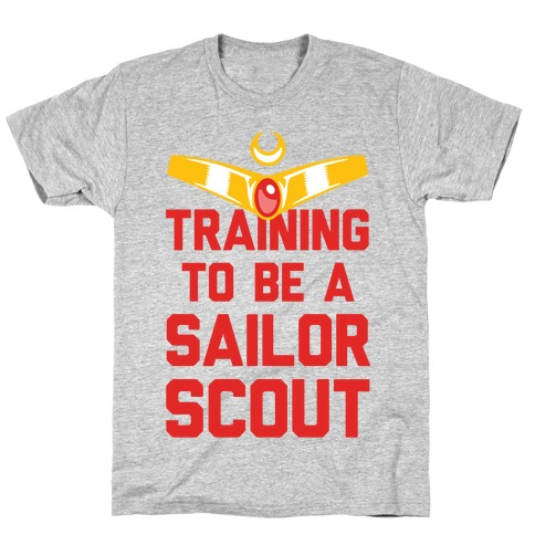 Training To Be A Sailor Scout Mens T-Shirt
