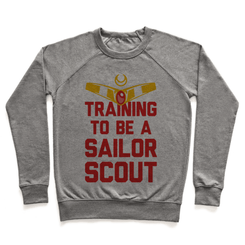 Training To Be A Sailor Scout Pullover