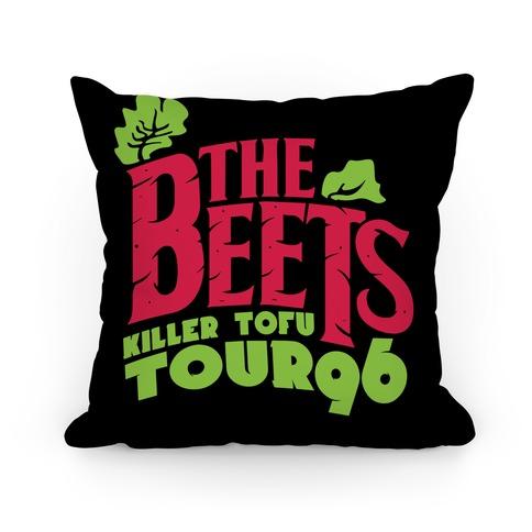 Beets Tour Pillow