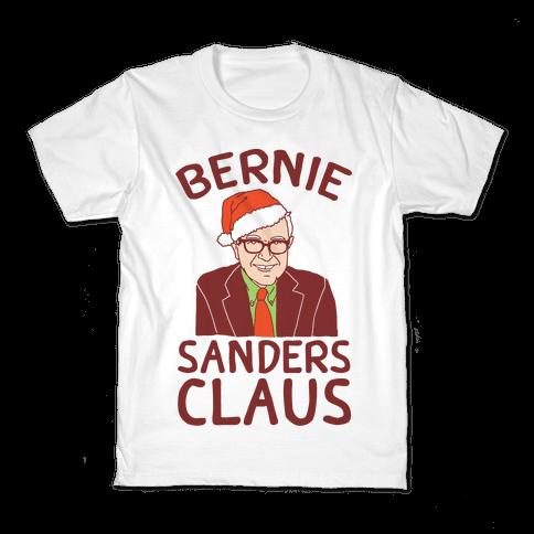 Bernie Sanders Claus Kids T-Shirt