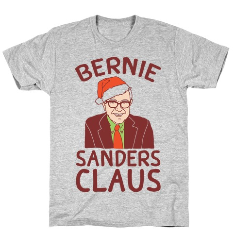 Bernie Sanders Claus T-Shirt
