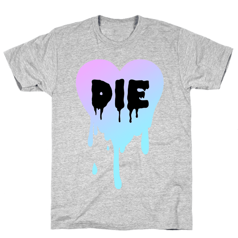 Just Die Mens T-Shirt