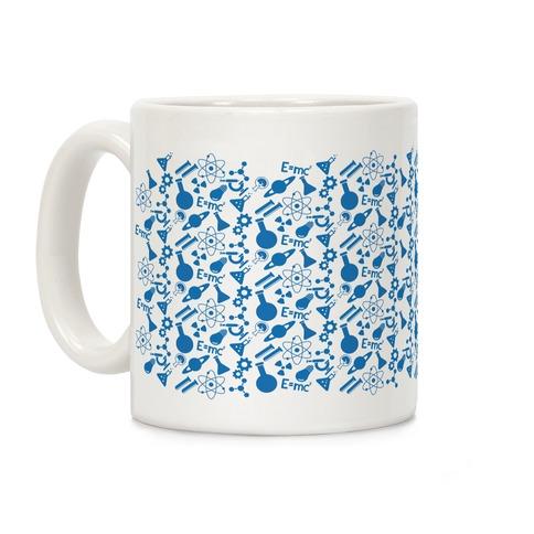 Science Pattern Coffee Mug