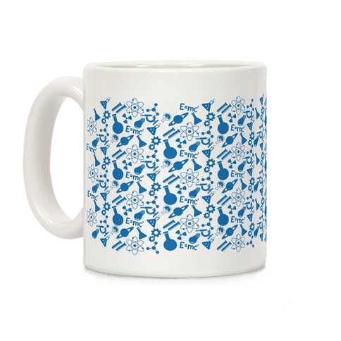 Science Pattern Coffee Mug