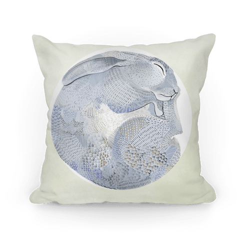 Moon Rabbit Pillow