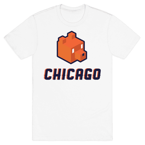Chicago Blocks Mens T-Shirt