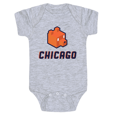 Chicago Blocks Baby Onesy