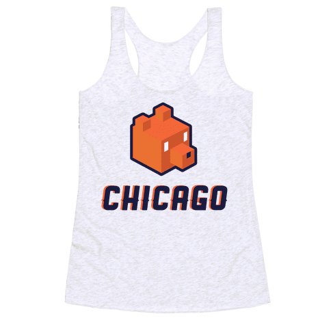 Chicago Blocks Racerback Tank Top