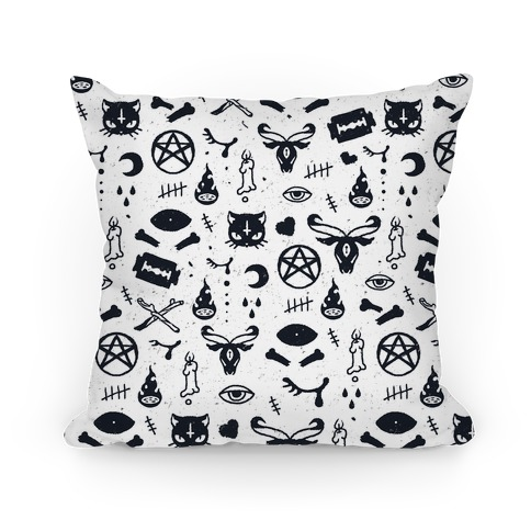 Cute Occult Pattern Pillow Pillow