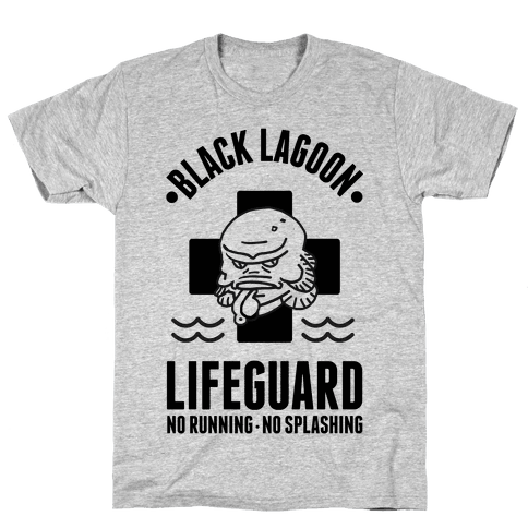 Black Lagoon Lifeguard Mens T-Shirt