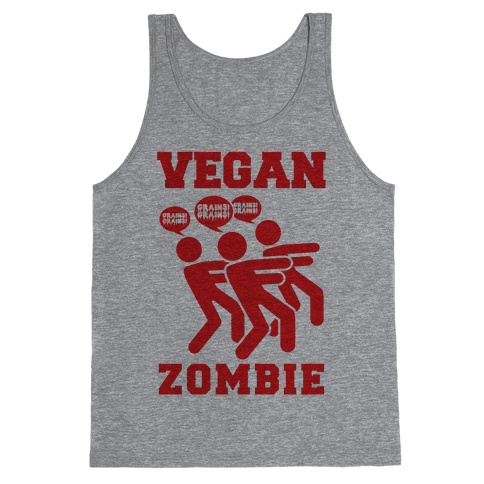 Vegan Zombie Tank Top