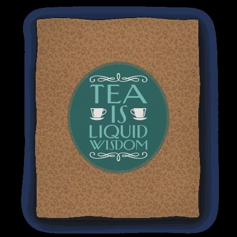 Liquid Wisdom Blanket